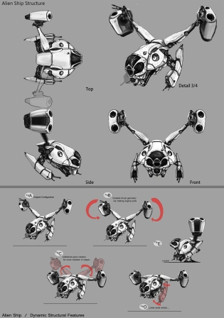 Space Ship Concepts