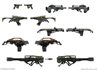 Proxy War Weapon Concepts- DaveSchool
