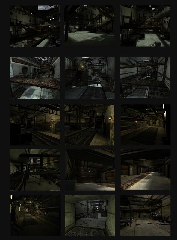 Game models for Spy Hunter - Midway Home Ent.
