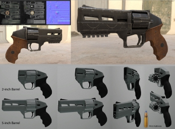 10 Shot 5.7 Revolver Design