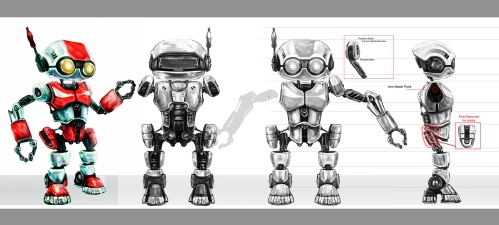 Coke Bot - Monkey Chow/Universal/Coca Cola