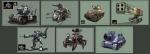 SNK MetalSlug VehicleStudy