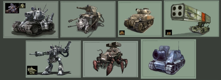 Metal Slug Concepts