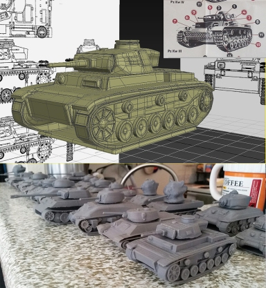 3d printed tanks