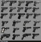 Pistol iterative design