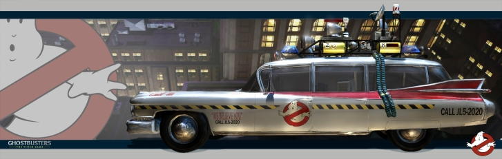 Promotional Banner- Ghostbusters The Video Game
