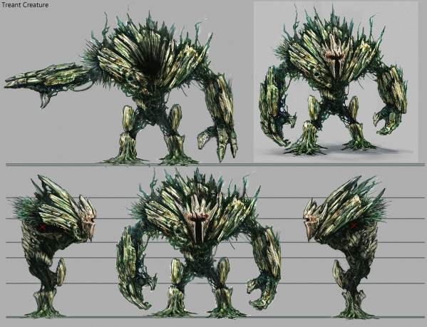Treant Concept for DaveSchool Video Game School