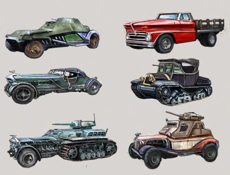 Fantasy Vehicle Concepts