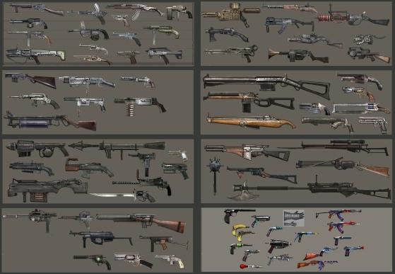 Fantasy Weapon Concepts